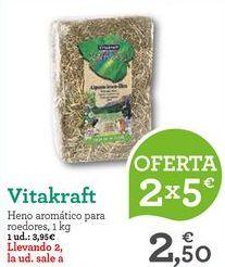 Oferta de Accesorios para animales Vitakraft por 3,95€