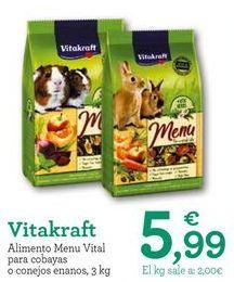 Oferta de Comida para roedores Vitakraft por 5,99€