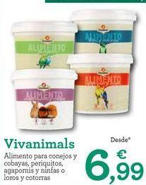 Oferta de Comida para roedores por 6,99€