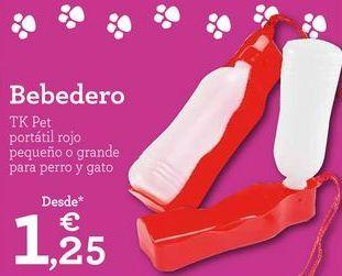 Oferta de Bebedero para perros por 1,25€