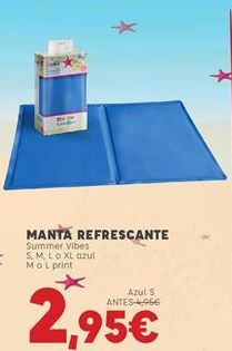Oferta de Manta por 2,95€