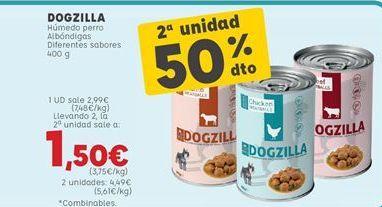 Oferta de Comida para perros por 2,99€