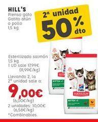 Oferta de Pienso para gatos por 17,99€