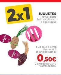 Oferta de Juguetes para gatos por 0,99€