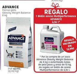 Oferta de Comida para gatos Advance por 48,99€