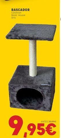 Oferta de Rascador para gatos por 9,95€