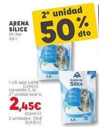 Oferta de Arena para gatos por 4,89€