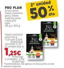 Oferta de Snacks para mascotas  por 2,5€