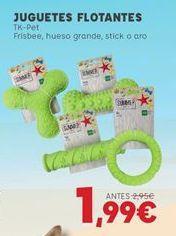Oferta de Juguetes para perros por 1,99€