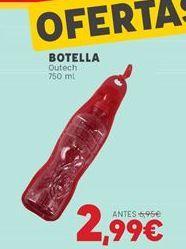 Oferta de Botella de agua por 2,99€