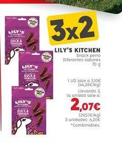 Oferta de Snacks para mascotas por 3,1€