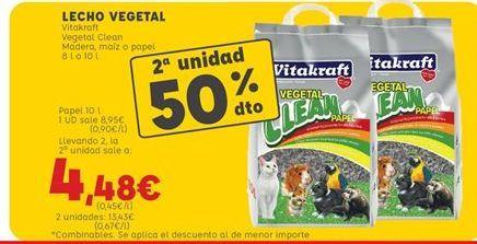 Oferta de Accesorios para animales Vitakraft por 8,95€