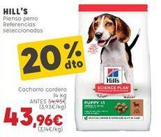 Oferta de Pienso para perros por 43,96€