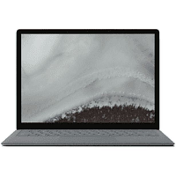 "Oferta de Portátil - Microsoft Surface Laptop 2, 13.5"", Intel® Core™ i5-8250U, 8GB RAM, 256GB SSD, W10, Plata por 1449€"