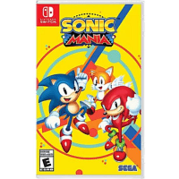 Oferta de Nintendo Switch Sonic Mania Code in Box por 9,99€