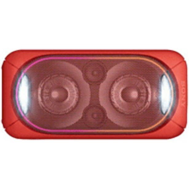 Oferta de Altavoz de gran potencia - Sony GTK XB60, Bluetooth, NFC, Rojo por 195,99€