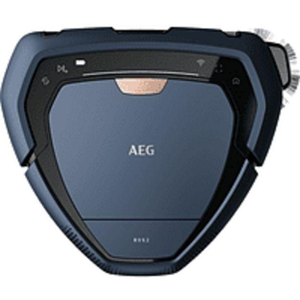 Oferta de Robot aspirador - AEG RX9, Navegación 3D, WiFi, App, 0.9L, 120 min, 75 dB, Azul por 799€