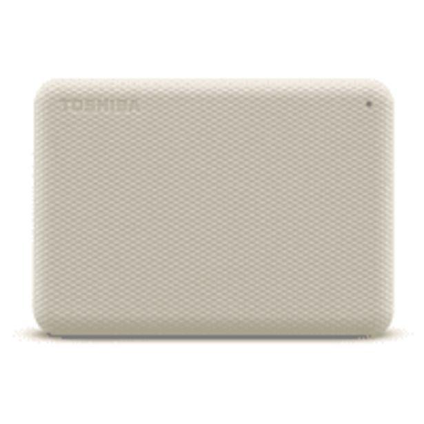 "Oferta de Disco duro externo 4 TB - Toshiba Canvio Advance, 2.5"", USB tipo A, HDD, ~ 5,0 Gbps, 900 mA, Blanco por 97,99€"