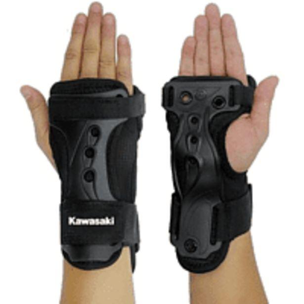 Oferta de Protector de muñeca y manos - Kawasaki KXPC02, Talla M, Negro por 15,99€