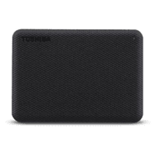 "Oferta de Disco duro externo 4 TB - Toshiba Canvio Advance, 2.5"", USB tipo A, HDD, ~ 5,0 Gbps, 900 mA, Negro por 102€"