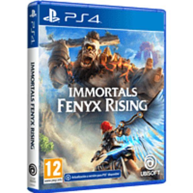 Oferta de PS4 Immortals Fenyx Rising por 29,99€