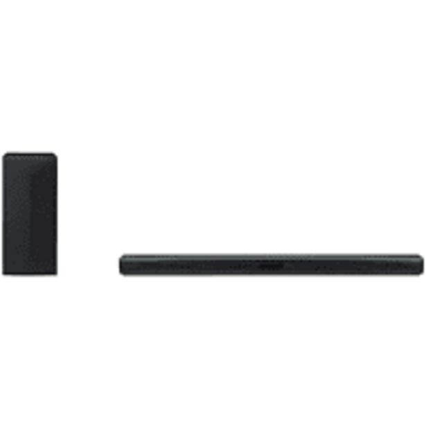 Oferta de Barra de sonido - LG SK4D, 2.1, Con subwoofer inalámbrico, 300 W, Bluetooth, TV Sound Sync, Negro por 145€