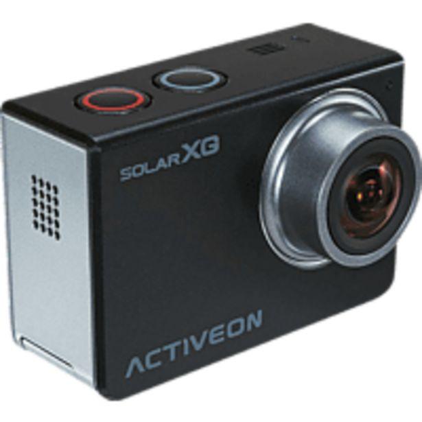 Oferta de Videocámara Outdoor - Activeon XCA10W SOLAR XG Estación Solar de carga 16 Mpx F2.4 Live View por 79,9€