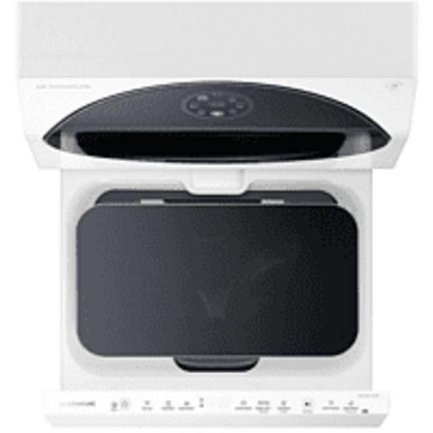 Oferta de Mini Lavadora - LG LST100, Carga superior, 2 kg, 700 rpm, 19L, 9 programas, Display LED Táctil, Blanco por 939€