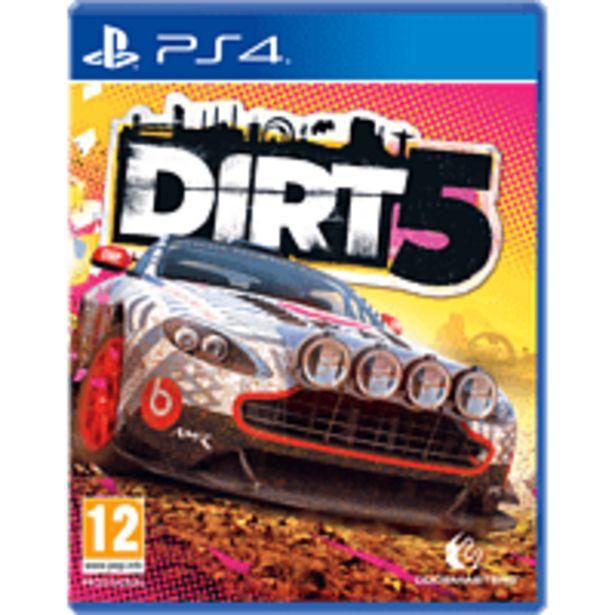 Oferta de PlayStation 4 Dirt 5 por 35,99€