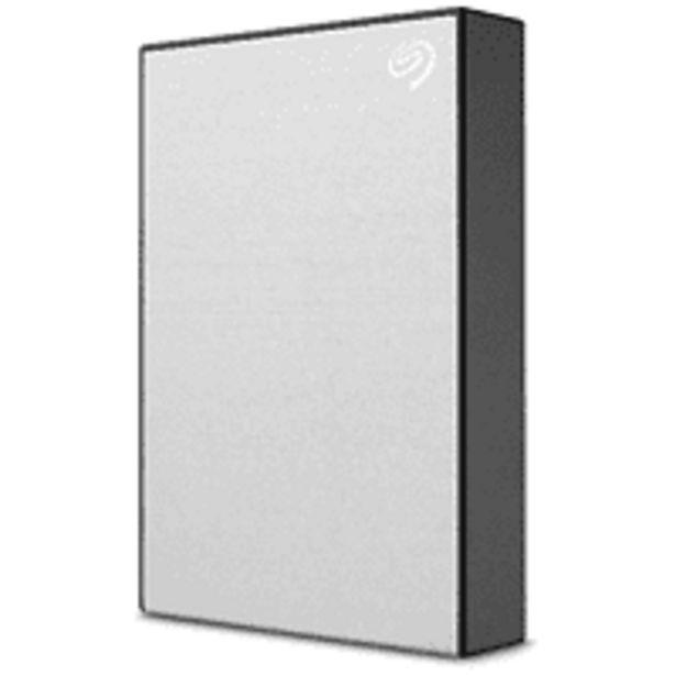 Oferta de Disco duro externo 4TB -  SEAGATE Backup Plus Portable, Pc y Mac, Plata por 107€