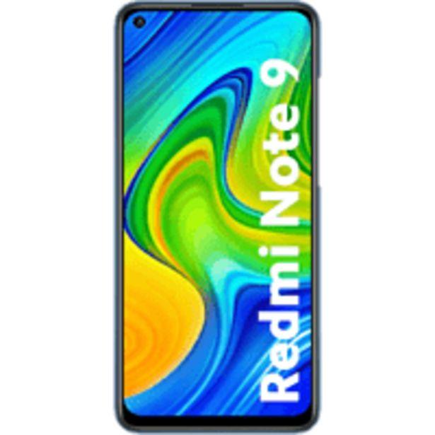 """Oferta de Móvil - Xiaomi Redmi Note 9, Negro, 128 GB, 4 GB, 6.53"""" FHD+, 2,5 GHz, 5020 mAh, Android por 179€"""