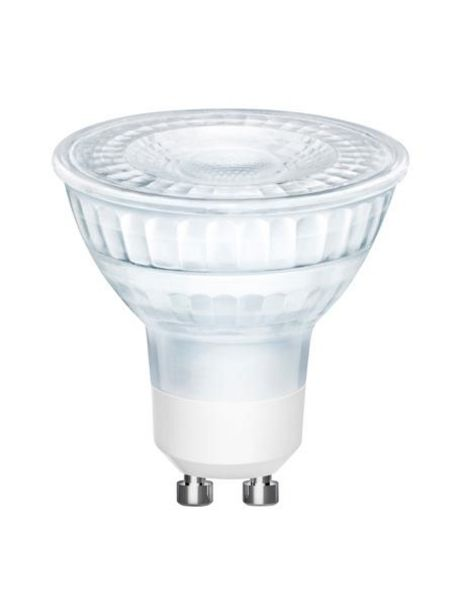 Oferta de Bombilla regulable GU10, 5W, blanco cálido, 1ud. por 6,99€