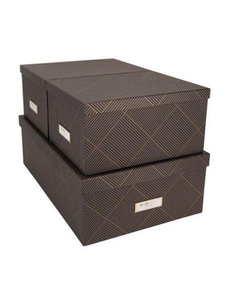 Oferta de Set de cajas Inge, 3pzas. por 37,99€