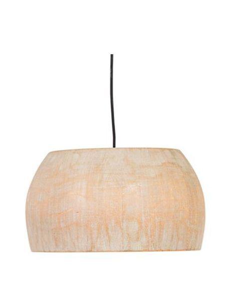 Oferta de Lámpara de techo de madera de Paulownia Solid, estilo escandinavo por 119€