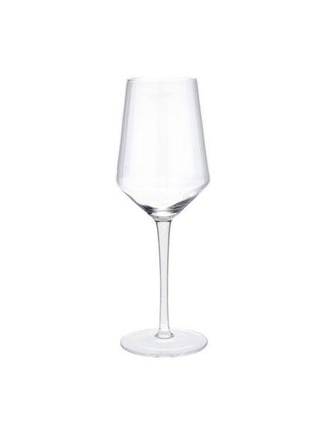 Oferta de Copas de vino blanco sopladas artesanalmente Ays, 4uds. por 17,99€