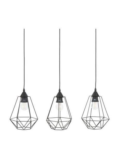 Oferta de Lámpara de techoWire, estilo industrial por 54,99€