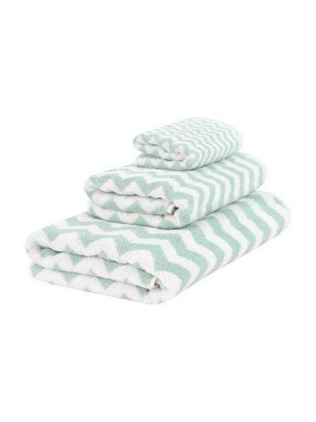 Oferta de Set de toallas Liv, 3pzas. por 15,99€