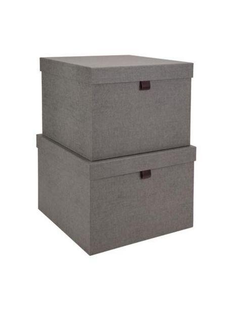 Oferta de Set de cajas Tristan, 2pzas. por 54,99€