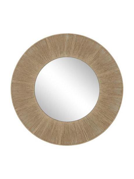 Oferta de Espejo de pared redondo de cuerda Citra por 199€