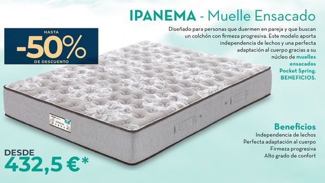 Oferta de IPANEMA- Muella Ensacado  por 432,5€