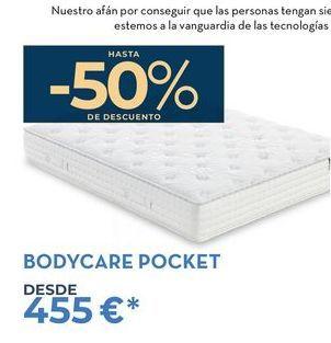 Oferta de Colchones Bodycare Pocket  por 455€