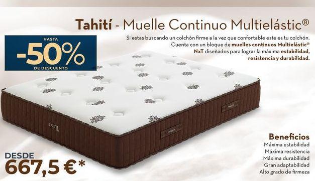 Oferta de Thiti- Muelle Continuo Multielastic  por 667,5€