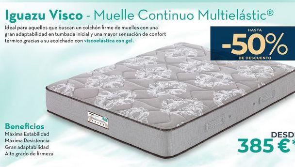 Oferta de Iguazu Visco - Muelle continuo Multielasitc  por 385€