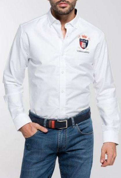 Oferta de Camisa Hombre Leones Blanco por 38,94€