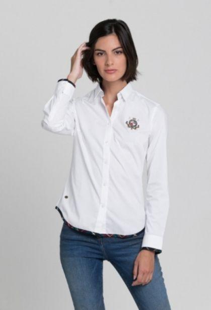 Oferta de Camisa rayas blanco mujer por 45,37€