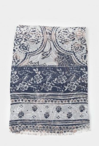 Oferta de Pañuelo U Valecuatro Azul Marino por 10,29€