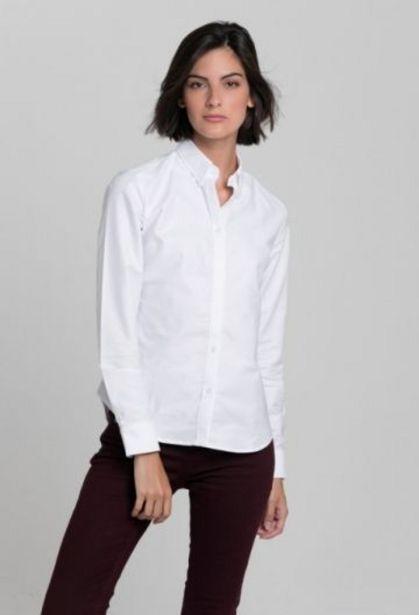Oferta de Camisa clásica blanco de mujer por 45,37€
