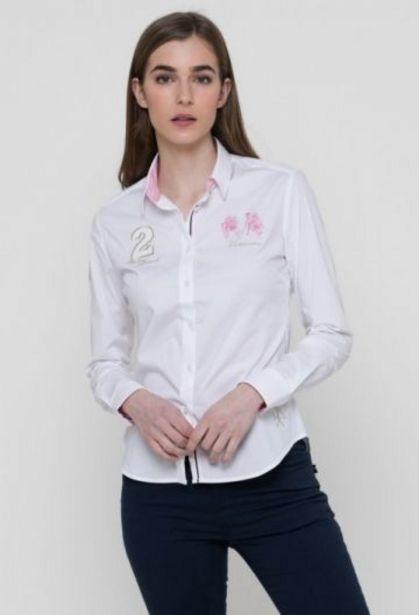 Oferta de Camisa Palm beach de mujer blanco por 47,92€