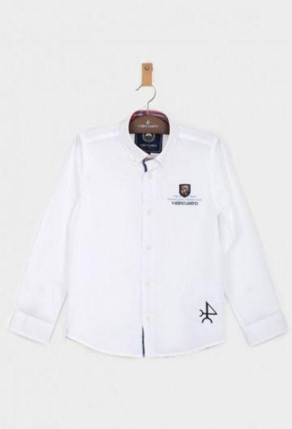 Oferta de Camisa Niño Summer Tour Blanco por 27,45€
