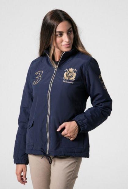 Oferta de Cazadora azul escudo mujer por 75,15€